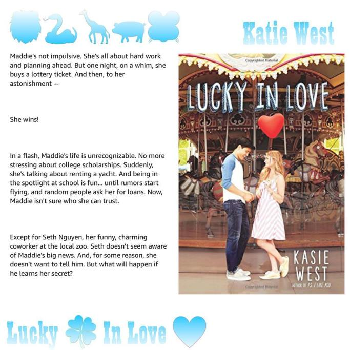 Lucky In Love By Kasie West Author Slims Blog
