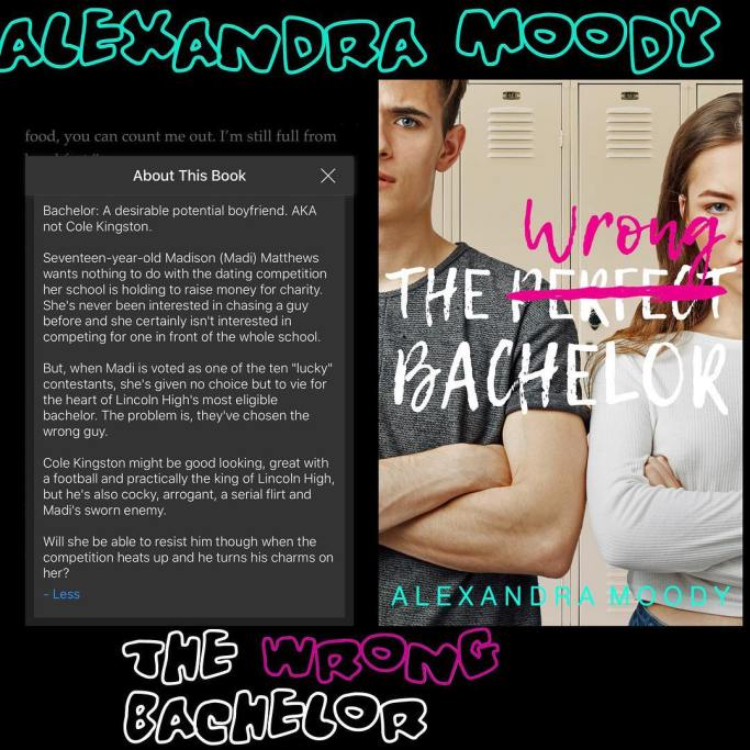 The Wrong Bachelor By Alexandra Moody Author Slims Blog